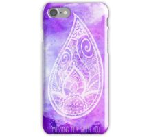 Missing Her With You iPhone Case/Skin