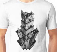 Escher Style - Tower of Babel Unisex T-Shirt
