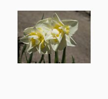 Pastel Yellow Spring - a Pair of Double Daffodils T-Shirt
