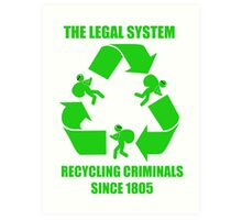 The Legal System Art Print