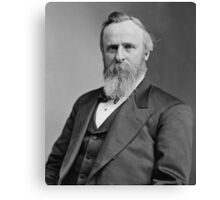 President Rutherford B. Hayes Canvas Print