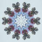 Lampwork Earring Star by Erica Long