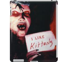Angela Loved Kittens and Sending People to Hell iPad Case/Skin
