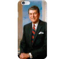 President Ronald Reagan Official Portrait iPhone Case/Skin