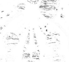 eye of the falling dreamer Sticker