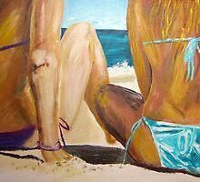 Bikini Girls  by gillsart