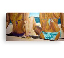 Beach Girls Canvas Print