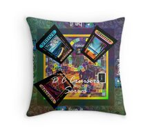 ETHOS - the game - DC CRUISERS 2 Throw Pillow