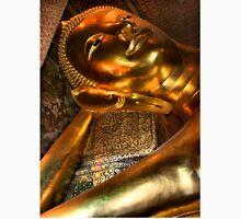 The Reclining Buddha, Wat Pho, Bangkok, Thailand  Unisex T-Shirt