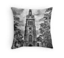 Church B&W Throw Pillow