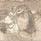 """Birth Of Psyche - """"Etching"""" by Fiona  Jones"""