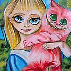 ALICE IN WONDERLAND CHESHIRE CAT by gordonbruce