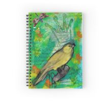 Crowned Canary Spiral Notebook
