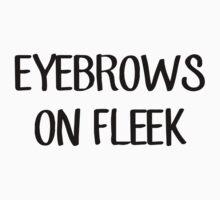 Eyebrows On Fleek by shoptumblr