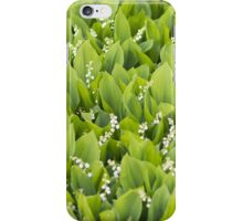 Beautiful Lily of the Valley flowers iPhone Case/Skin