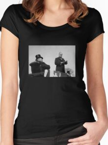 William McKinley Making His Inaugural Address  Women's Fitted Scoop T-Shirt