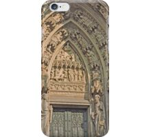 Entrance, Cologne Cathedral, Germany iPhone Case/Skin