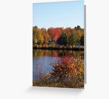 Fall at Lake Winnipesaukee Greeting Card