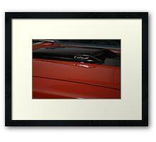 """Cobra """"Jet"""" Framed Print"""