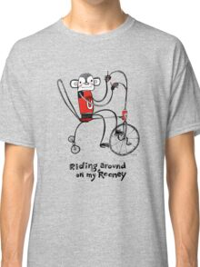 Riding around on my Rooney Classic T-Shirt