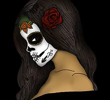 The Day Of The Dead Girl by Adamzworld