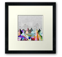 Colorflash 3 Framed Print