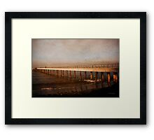 Perspective - Days Gone By Framed Print