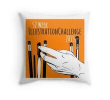 Square Challenge Logo Throw Pillow