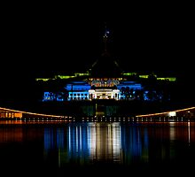 Australian Parliament Houses by Peter Doré