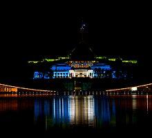 Australian Parliament Houses by Peter Doré