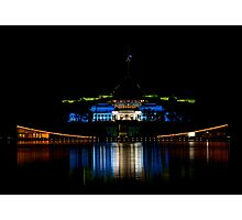 Australian Parliament Houses Photographic Print