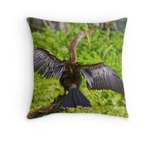 Missing Feathers Throw Pillow