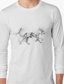 Arcanine - original illustration Long Sleeve T-Shirt