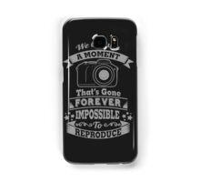 photography photographer t-shirt Samsung Galaxy Case/Skin
