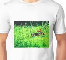 Rabbit in the Grass Unisex T-Shirt