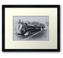 No 60007  Sir Nigel Gresley at Grosmont. Framed Print