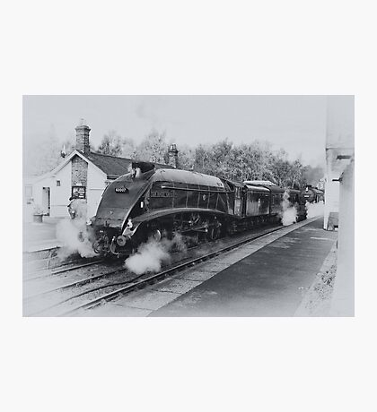 No 60007  Sir Nigel Gresley at Grosmont. Photographic Print