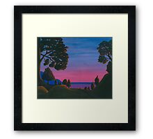 Heading Home With Friends Framed Print