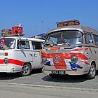 World cup 2010 camper vans by Len  Pinner