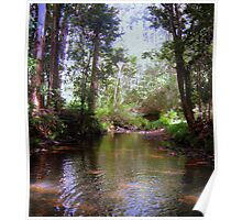 Peaceful Creek Poster