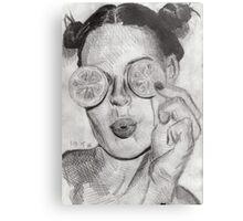 Citrus Vision Metal Print