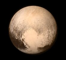 IT'S REALLY PLUTO'S HEART - HIGH QUALITY IMAGE by colormecolorado