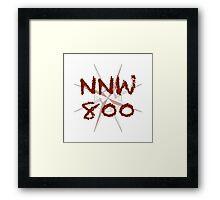 NNW800 Challenge Framed Print
