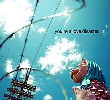 love disaster by stolen lyric