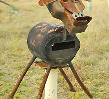 Moo Moo Mailbox # 18 by Penny Smith