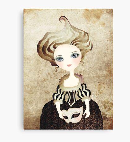 Madame Cupcake Canvas Print
