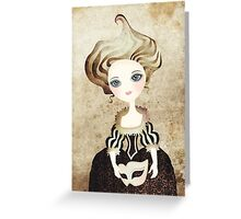 Madame Cupcake Greeting Card