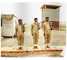Iraqi Honor Guard Poster