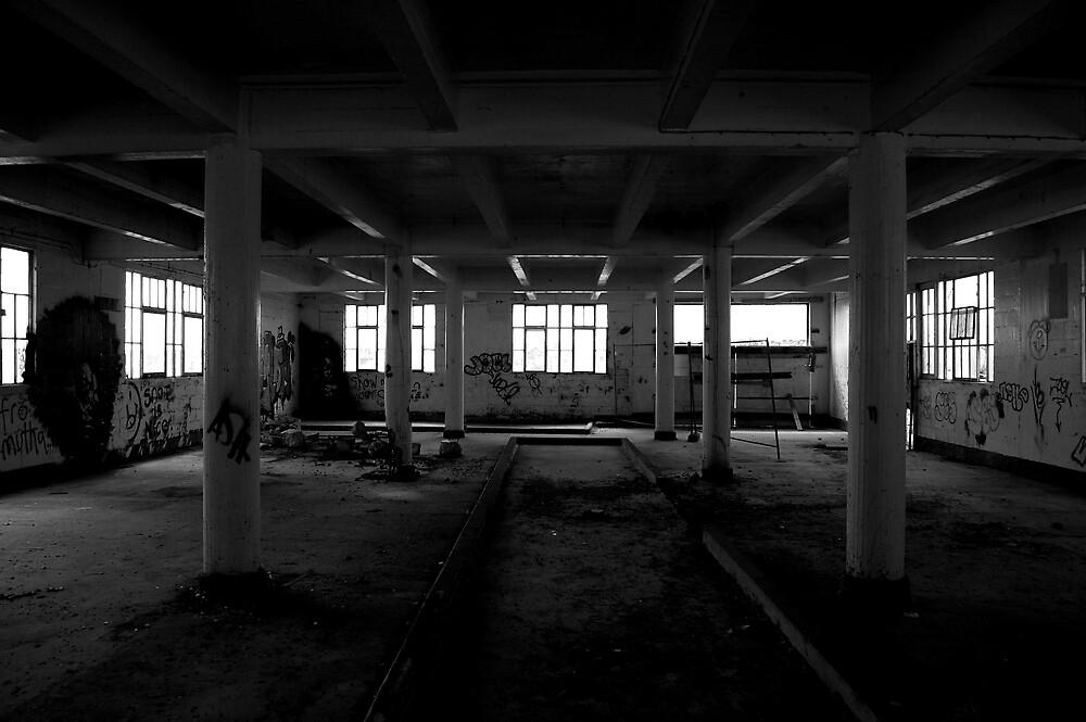 Abandoned Mill - Ipswich Docks by GordonCox