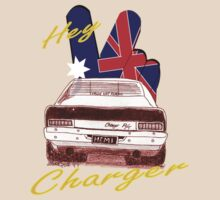 Hey Charger by Diana-Lee Saville